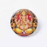"Button ""Ganesha"""