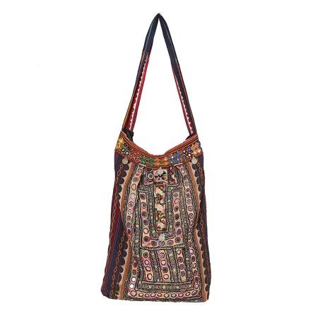 Jumbo-Shopper im Bohemian-Vintage Style