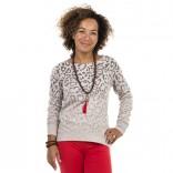 Leo-print Sweatshirt von Juvia