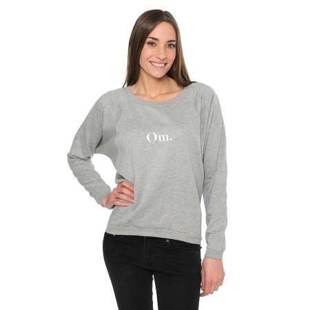 Sweatshirt - Grau - Om