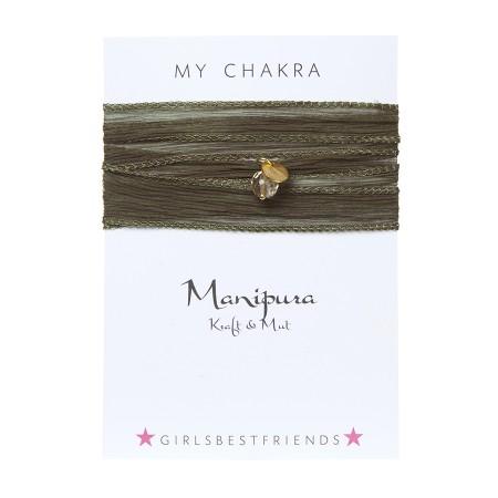 """Chakra-Armband """" Manipura"""" von girlsbestfriends"""