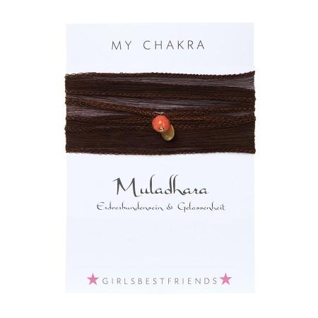 """Chakra-Armband  """"Muladhara"""" von girlsbestfriends"""