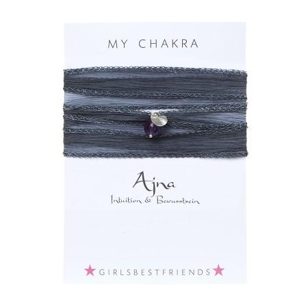 "Chakra-Armband ""Ājñā"" von girlsbestfriends"