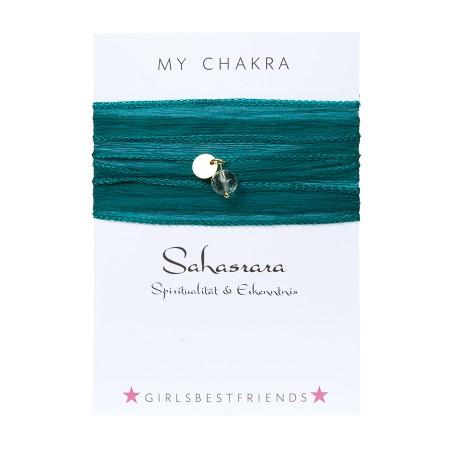 "Chakra-Armband ""Sahasrāra"" von girlsbestfriends"