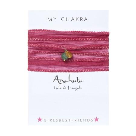 "Chakra-Armband ""Anahata"" von girlsbestfriends."