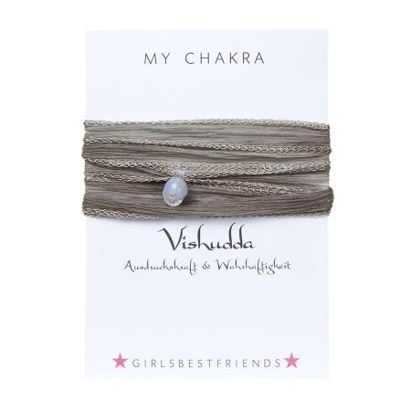 """Chakra-Armband """"Viśuddha"""" von girlsbestfriends"""