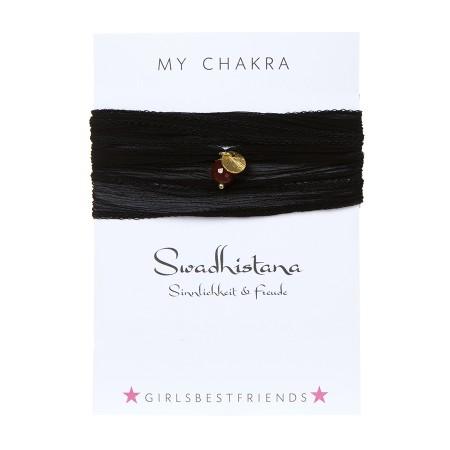 """Chakra-Armband """"Svādhisthāna"""" von girlsbestfriends"""