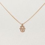 Goldkette mit Hand der Fatima von Chaingang