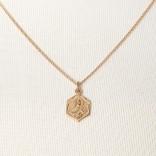 Goldkette mit Mutter Gottes Anhänger von Chaingang