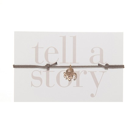 TELL A STORY - Armband Om gold von Chaingang